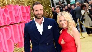 Kylie Minogue and her fiance Joshua Sasse.