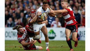 Bath winger Anthony Watson suffers broken jaw on international duty
