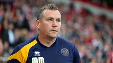 Mellon joined Shrewsbury in 2014, guiding the side to promotion from League Two during his first season in charge.