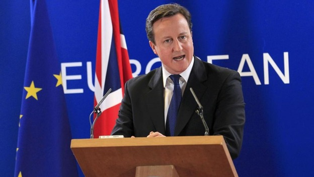 Prime Minister David Cameron is accused of alienating European partners