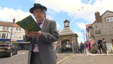 Celebrating National Poetry Day in Sheringham