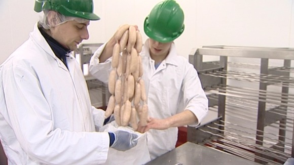 Staff at Musks Newmarket Sausages
