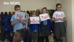 Staff at Our Lady & St Hubert's Catholic Primary School in Smethwick have been reinforcing the 'stranger danger' message