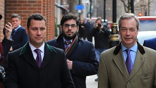 Nigel Farage has launched an inquiry into the 'altercation'