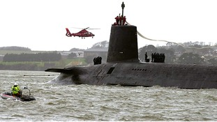 HMS Vanguard pictured in 2002 will be replaced