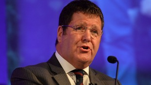 Mike Hookem denied that any punches were thrown