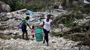 Hurricane Matthew has devastated parts of Haiti.