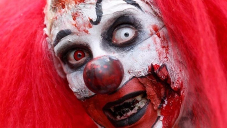 knife wielding clown spotted in teesside village tyne tees itv news. Black Bedroom Furniture Sets. Home Design Ideas