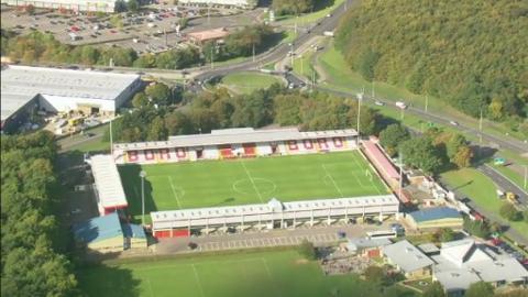 Stevenage Football Club Celebrates 40th Anniversary Anglia Itv News