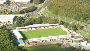 Stevenage Football Club celebrates 40th anniversary