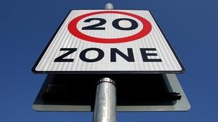 20mph zone