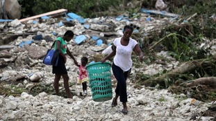 Hundreds of thousands have been affected after 145mph winds savaged the Caribbean country.