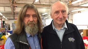 Fedor Konyukhov and Bristol-based balloon maker Don Cameron