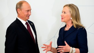 US accuses Russia of hacking campaign on Democrats intended to 'interfere with election'