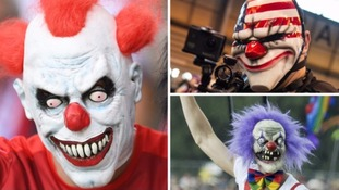 Police issue further warnings over knife-wielding 'killer clowns'