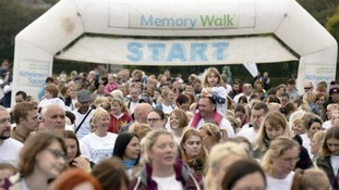 Thousands walk in South Shields to fight dementia