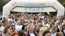 The South Shields Memory Walk in aid of the Alzheimer's Society