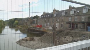The £36m flood scheme is well underway