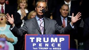 Nigel Farage: Trump comments just 'alpha male boasting'