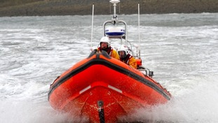 The RNLI in action (library picture - not related to the actual rescue)