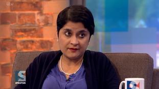 Baroness Shami Chakrabarti appears on Peston on Sunday.