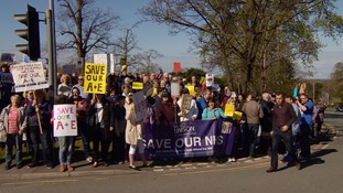 Campaigners want the A&E to be fully reopened