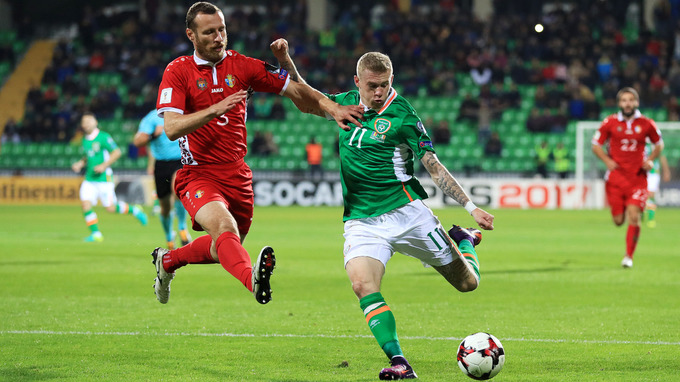 Republic of Ireland (-2.5) to beat Moldova