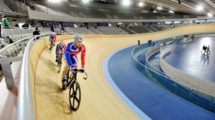 The Olympic Velodrome in east London