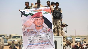 Forces loyal to the Yemeni government are fighting the rebels