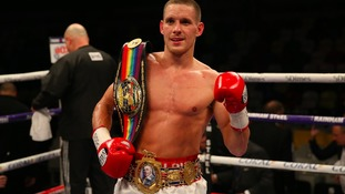 Liam Walsh will now fight for a world title.