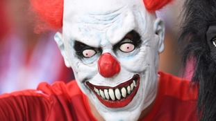 Police are issuing warning over the  latest 'clown craze'