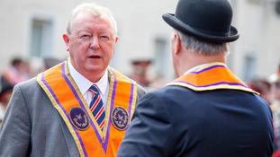 Drew Nelson passed away on Monday, the Orange Order said.