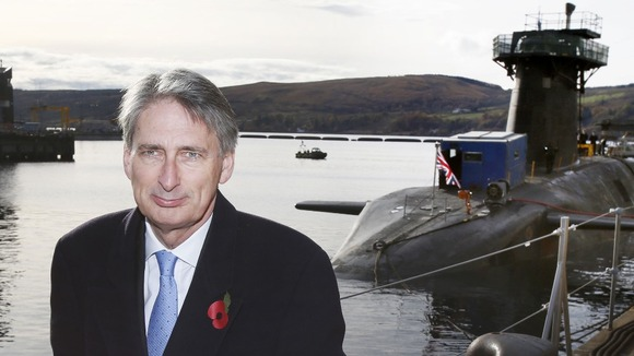 The UK Government has no plans to remove nuclear weapons from Faslane and intends to move more submarines based in England to the base