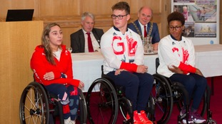 Local Rio Paralympians celebrated by Lord Mayor