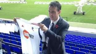 Dougie Freedman has been officially unveiled by the club after his protracted move from Crystal Palace