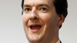 Chancellor George Osborne.