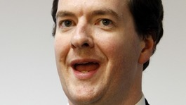 Chancellor George Osborne.
