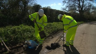 Devon's volunteer pothole army