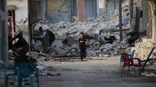 Boy in Aleppo Syria