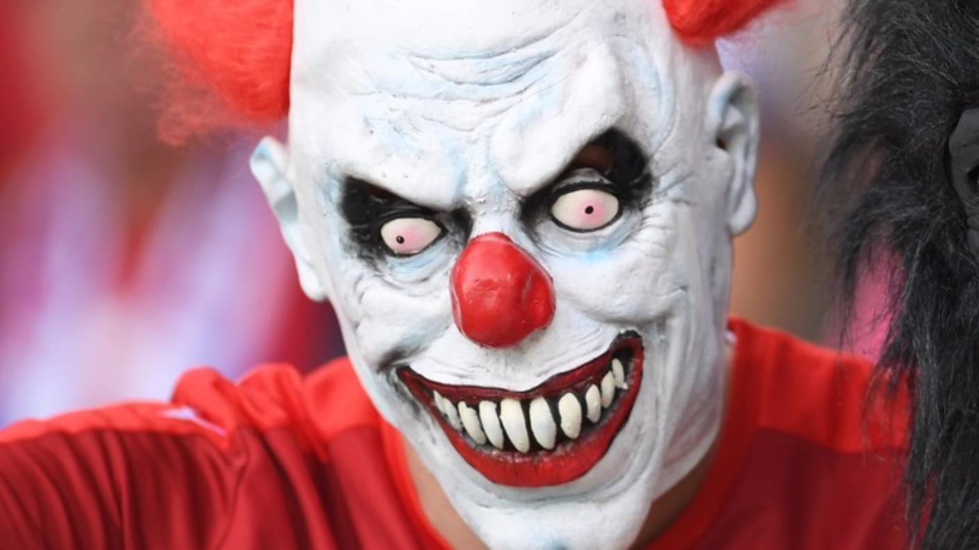 Clown sighting reported in jersey during 39 killer clown for A clown fish