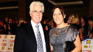Max Clifford and wife Jo Westwood at the 2012 Pride of Britain awards at Grosvenor House, London.