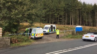 Murder probe after body found in rural lay-by