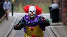 Aggressive clown