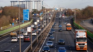 Pedestrian on M4 in fatal collision with Iceland van