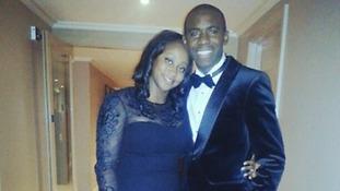 Shauna Magunda and Fabrice Muamba.