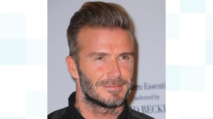 Find out why Beckham was in Brum