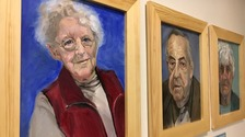 Hospice patients painted by Julia Stanton