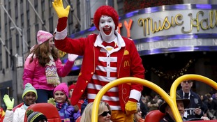 McDonald's red haired mascot clown