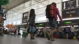 24 million people used Stansted Airport in the year leading up to September.