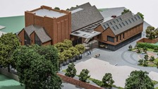 Architectural model of Ringwood Arts Centre